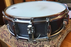 Selling with online payment: Custom Tempus carbon fiber 15x5 vintage looking snare