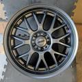 Selling: (4) ASA AR1 in Titanium Gunmetal 18x8 ET35,