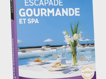 """Vente: Wonderbox """"Escapade gourmande et spa"""" (189,90€)"""
