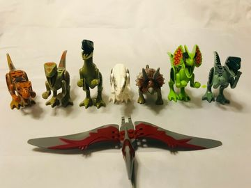 Buy Now: 240 DINOSAUR FIGURES Birthday Party Favors Games Gifts Eductional