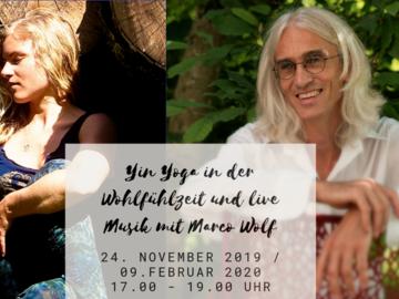 Workshop Angebot (Termine): Yin Yoga mit live Musik
