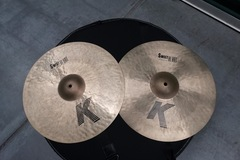 "Selling with online payment: Zildjian 16"" K SWEET HI HATS"