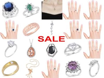Buy Now: Exclusive Jewellery Joblot - Rings, Necklaces, Pendants