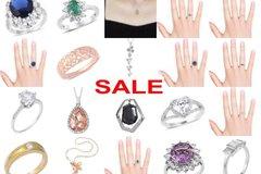 Buy Now: Exclusive Jewellery Joblot - Rings, Necklaces, Pendants