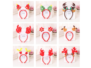 Buy Now: 100 PCS  Christmas Headbands for women and girls