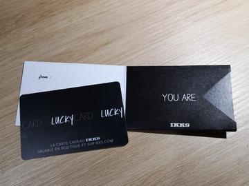 Vente: Carte cadeau IKKS (200€)