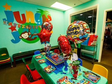 Book & Pay Online (per party package rental): Jungle Joe's Deluxe Party Packages!