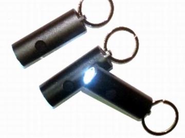 Buy Now: 3 LED Super Bright Round Metal Flashlight Keychains