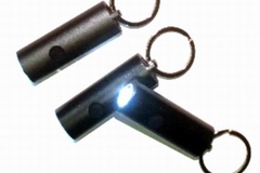 Buy Now: 3 LED Super Bright Round Metal Flashlight Keychains