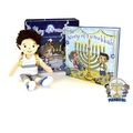 """Buy Now: """"The Story of Funukkah"""" Boy Plush Doll and Book Set – A Hanukkah"""