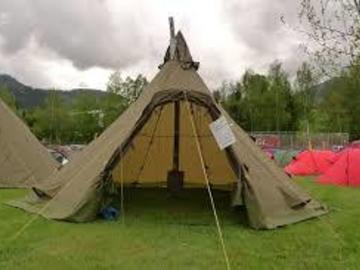 Til leie (per natt): Helsport Varanger 8-10 Camp - Kotateltta