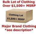 Buy Now: $1,500+ Wholesale Lot Men's/Women's Clothing - Major Designer