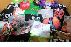 Buy Now: Wholesale Bulk Lot For 75 T- Shirts Graphic Novelty Printed