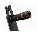 Buy Now: Universal 8X Camera Lens Clip Mobile Phone Telescope