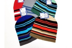 Buy Now: Cozy Zone Boys Winter Stretch Reversible Knit Beanie Hats – One S