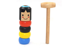 Buy Now: 100 Pieces Unbreakable Wooden Man Magic Toys For Christmas