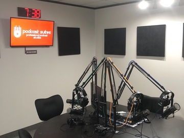 Rent Podcast Studio: Podcast Suites Dallas