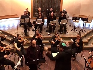 מקהלה: Concert with orchestra and Choir