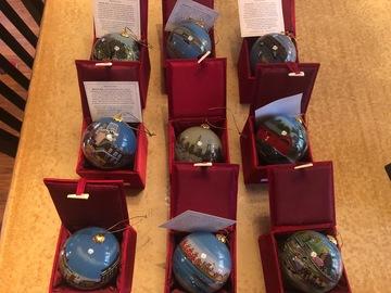 Buy Now: Marsha York Kanin Press Ornaments individually hand painted