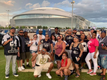 Paid Events: Cowboys vs Vikings Hard Hittahz Tailgate 11/10