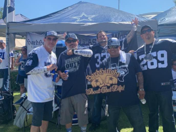 Paid Events: Cowboys vs Rams Hard Hittahz Tailgate 12/15