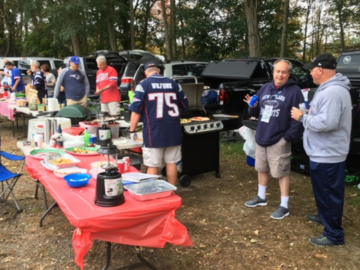 Paid Events: Parking Lot Chef Tailgate Patriots vs Chiefs