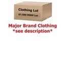 Buy Now: $7,500 + Wholesale Lot Men's/Women's Clothing - Major Designer