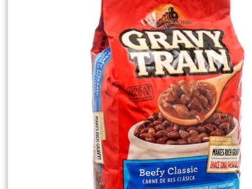 Buy Now: GRAVY DOG TRAIN BEEF FLVR 3.5LBS