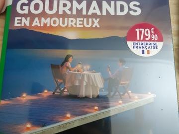"""Vente: Wonderbox """"3 jours gourmands en amoureux"""" (179,90€)"""