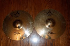 "Selling with online payment: Zildjian 13"" Mastersound Hi-Hats"