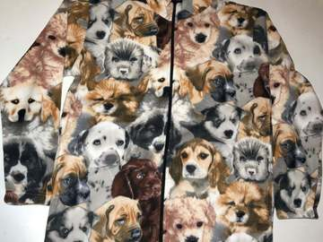 Selling: ZooFleece Dogs Cute Puppies Dog Fleece Jacket