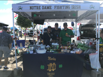 Paid Events: Notre Dame vs. Navy tailgate