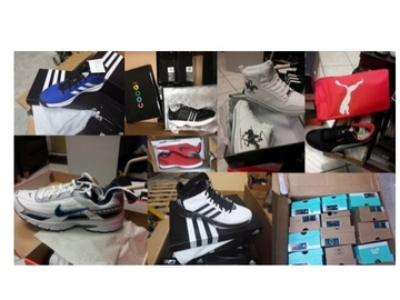 Buy Now: Name Brand Sneakers Lot  180 pairs All in Box!