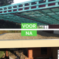 Click foto: [REALISATIE] Dakwerken Bamps & Co | Plat dak en overkapping