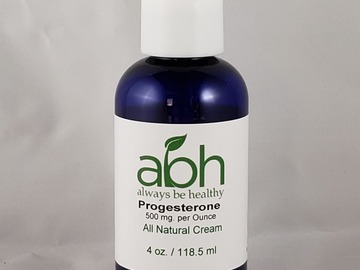 Buy Now: Progesterone Stabilizing Cream 500mg per Ounce (paraben free)