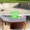 Click foto: [REALISATIE] Dakwerken Bamps en co | Bijgebouw in Lariks