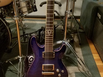 Renting out: Ibanez electric guitar w/ pearly gates humbucker for rent