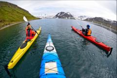 Réserver (avec paiement en ligne): Fjords du Nord Ouest en kayak - Islande