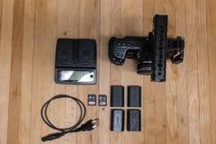 Vermieten: Blackmagic Pocket Cinema Camera 4k - BMPCC 4K - Set