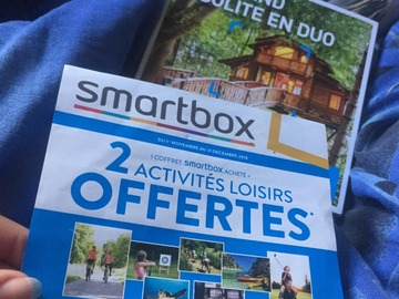 """Vente: Smartbox """"Week-end insolite en duo"""" (69,90€)"""