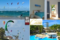 Course & Accomodation: 7 nights & 5 Kite lessons in Cabarete