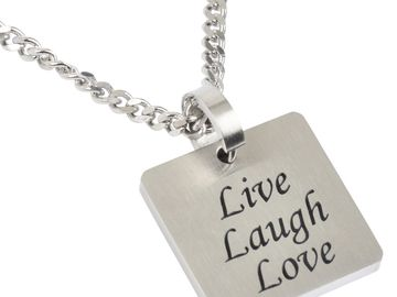 Make An Offer: Inspirational Words Pendants Stainless Steel 515+ pendants only