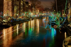 Alugue por pessoa: Amsterdam Light Festival - 18th JAN. 5pm