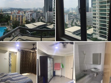 For rent: Master Room with Private Bathroom at Bangsar South