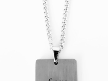 Make An Offer: 128 Stainless Steel Inspirational Word Necklaces  with 30+ words
