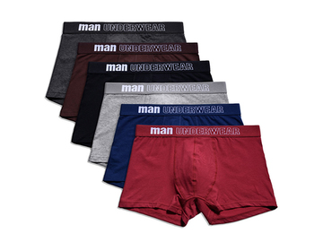 Buy Now: 180 PCS Men's cotton comfortable and loose underwear