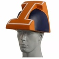 Make An Offer: NCAA Illinois Fighting Illini Novelty Foamhead