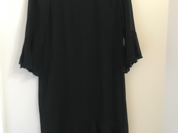 Selling: Sheer long sleeved frill dress