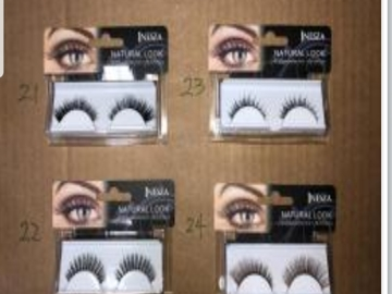 Buy Now: 300 pcs BRAND NEW IN RETAIL PACKAGE INESZA FALSE LASHES + GLUE