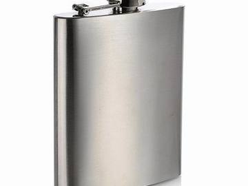 Buy Now: Stainless Steel Flask, 7 Oz.  Only $1.65 each -free shipping